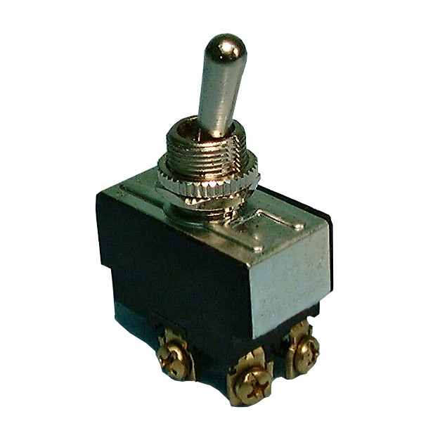 PHILMORE DPDT On-On Heavy Duty Toggle Switch