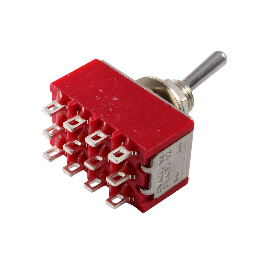 Philmore 4PDT On-On Mini Toggle Switch