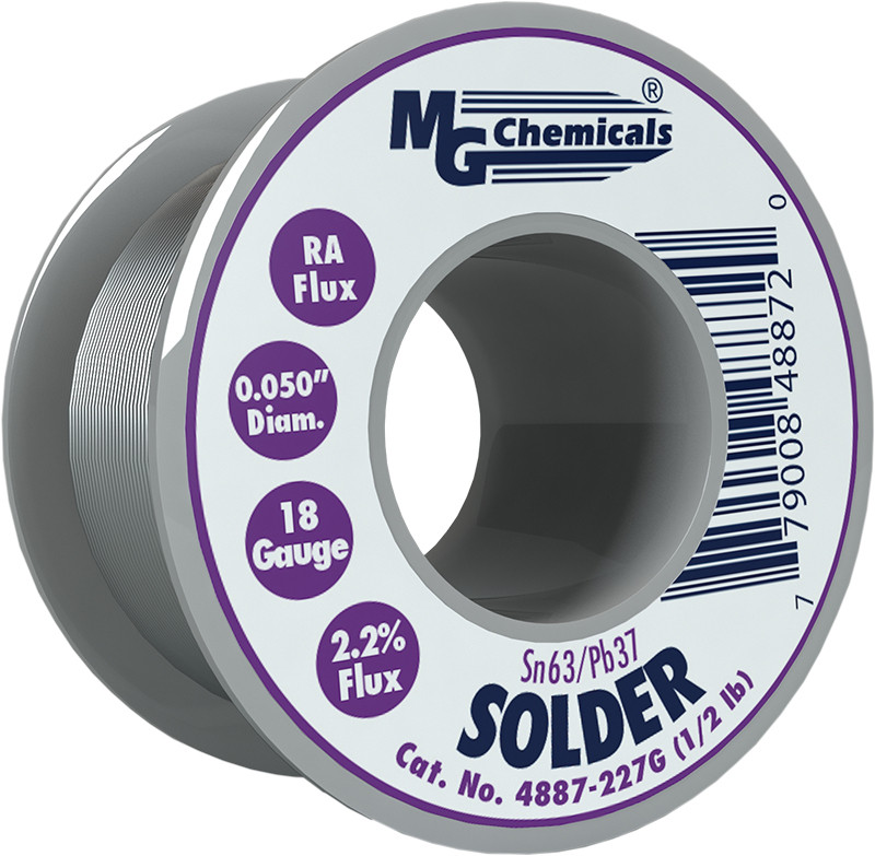 MG CHEMICALS Sn63 / Pb37 Leaded Solder .05