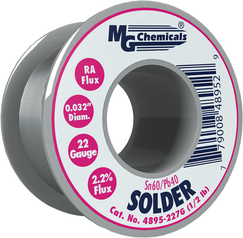 MG CHEMICALS Sn60 / Pb40 Leaded Solder .032