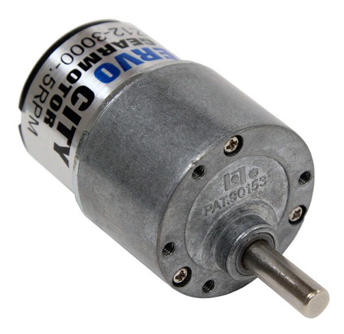 ACTOBOTICS 101 RPM Gear Motor