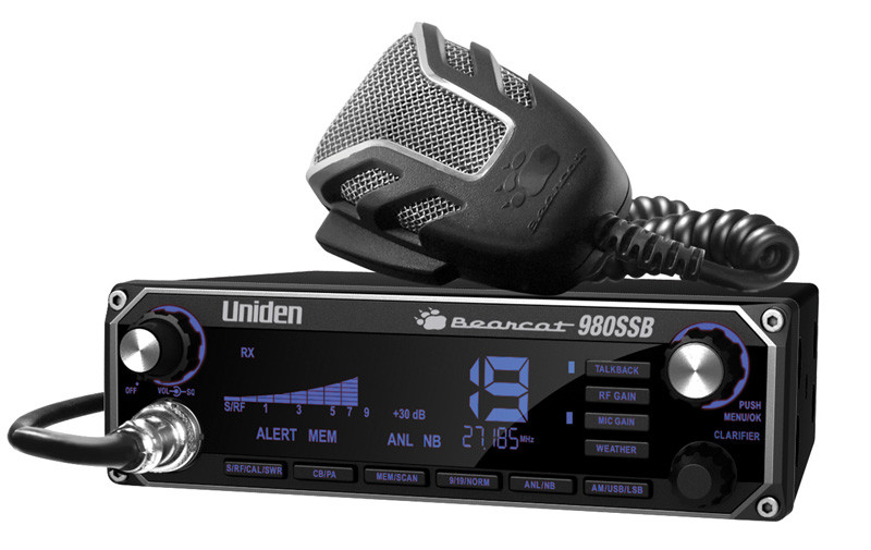 UNIDEN Bearcat 980 SSB 40-Channel SSB CB Radio