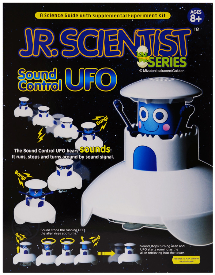 ELENCO Sound Control UFO Kit