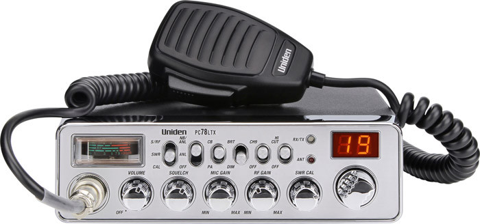 UNIDEN 40-Channel Trucker's CB with SWR