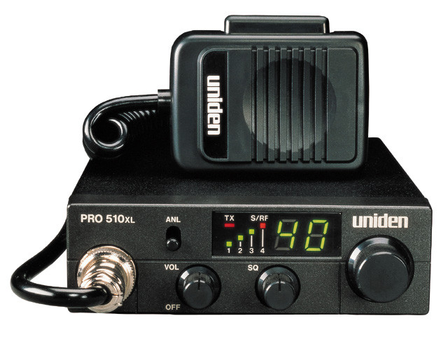 Uniden PRO510XL 40 Channel Compact Mobile CB Radio