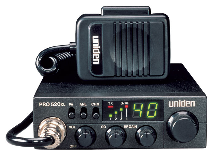 UNIDEN PRO520XL Compact Mobile CB Radio with PA
