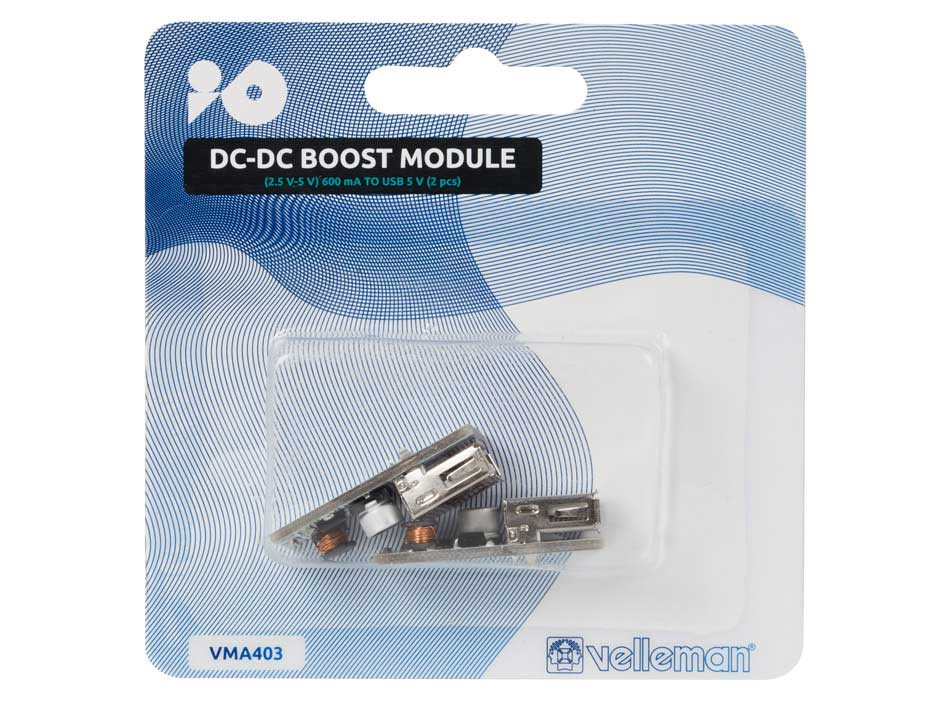 VELLEMAN DC-DC Voltage Boost Module 2 pack