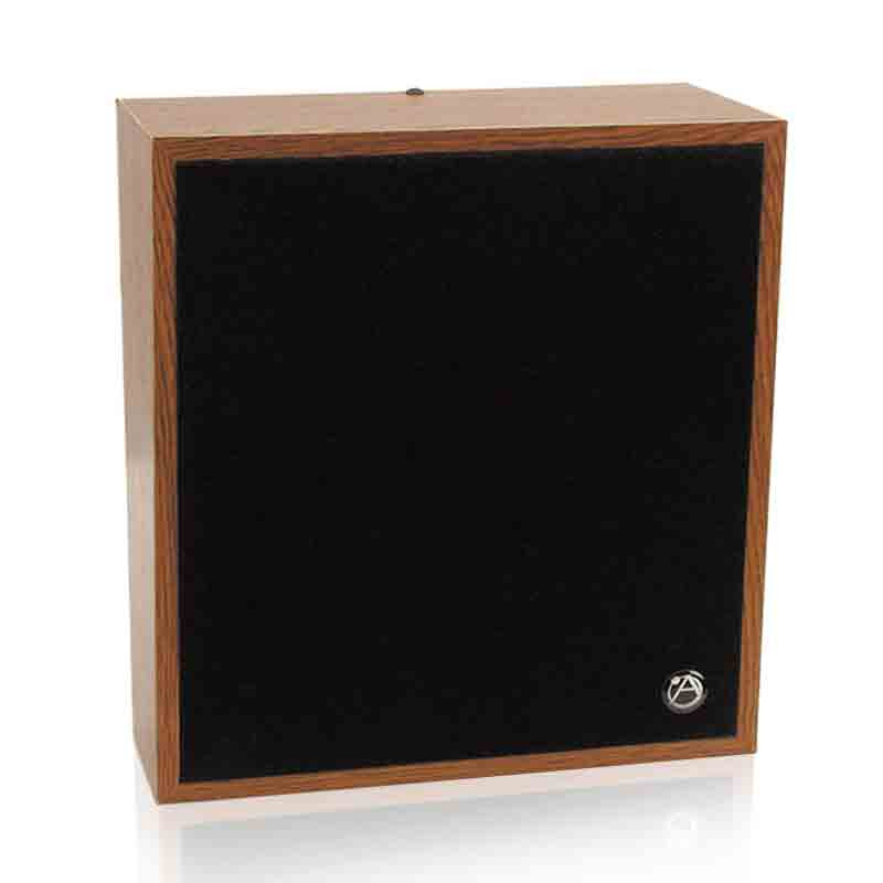 "ATLAS 8"" Slant Wall Mount Speaker Package with 25/70.7V-4W Transformer with Volume Control"