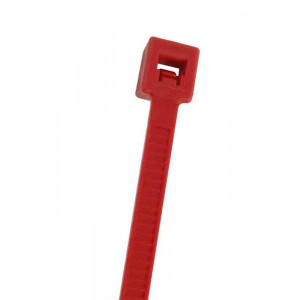 "NTE Cable Ties 5.84"" 40# Red 100pk"
