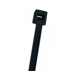 "NTE Cable Ties 15.09"" 120# Black 100pk"