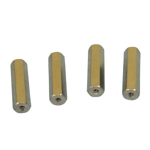 "PHILMORE 4-40 1"" long Spacers 4pk"