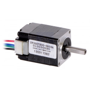 Stepper Motor: Bipolar, 200 Steps/Rev, 2030mm, 3.9V, 0.6 A/Phase