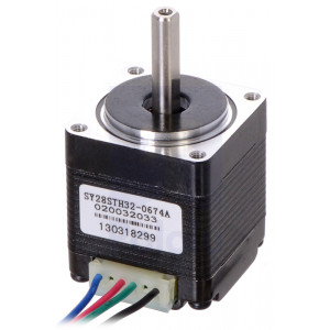 Stepper Motor: Bipolar, 200 Steps/Rev, 2832mm, 3.8V, 0.67 A/Phase