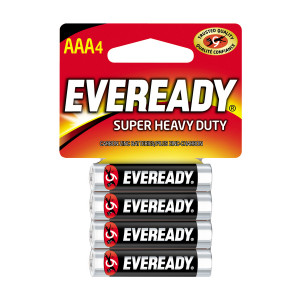 EVEREADY Super Heavy Duty AAA Battery