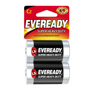 EVEREADY Super Heavy Duty C Battery 2pk