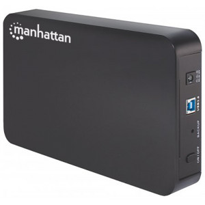 "MANHATTAN MANHATTAN Sata 3.5"" Hard Drive Enclosure USB 3.0"