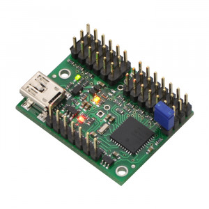 POLOLU Mini Maestro 12-Channel USB Servo Controller (Assembled)