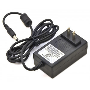Wall Power Adapter: 5VDC, 3A, 5.52.1mm Barrel Jack, Center-Positive