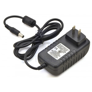 Wall Power Adapter: 9VDC, 3A, 5.52.1mm Barrel Jack, Center-Positive