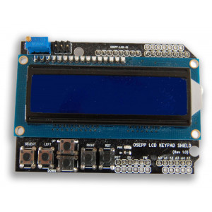 OSEPP 16 2 LCD Display & Keypad Shield