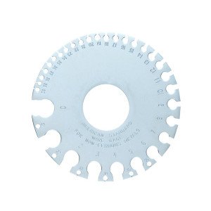 GENERAL TOOLS Wire Gauge