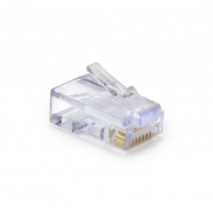 PLATINUM EZ-RJ45 CAT5/5e Connectors - 100-Pack Jar