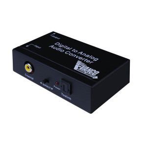 VANCO Premium Digital to Analog Audio Converter Dolby Approved