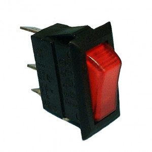 PHILMORE SPST On-Off Rocker Switch Lighted 12V