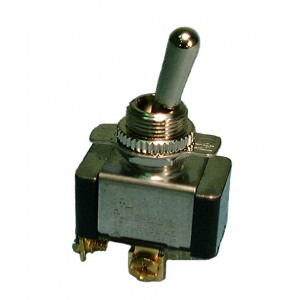 PHILMORE SPST On-Off Heavy Duty Toggle Switch