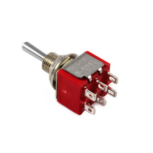 PHILMORE DPDT On-(On) Mini Toggle Switch