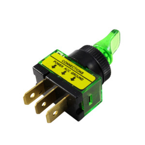PHILMORE Duckbill Toggle Switch On-Off Lighted