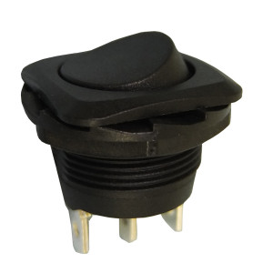 PHILMORE SPDT On-On Round Rocker Switch