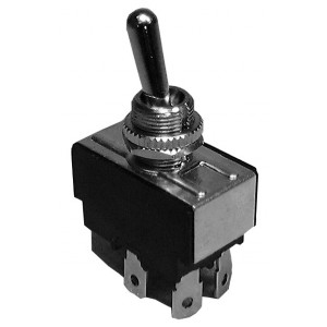 PHILMORE DPST On-Off Heavy Duty Toggle Switch