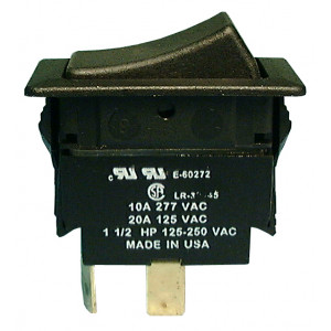 PHILMORE DPST On-Off Heavy Duty Rocker Switch