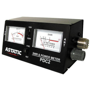 ASTATIC PDC2 SWR/ Power/ Field Strength Meter