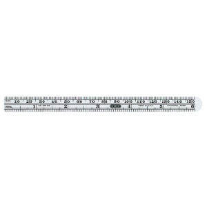 GENERAL TOOLS Precision 150mm/6 In. Flexible Steel Ruler
