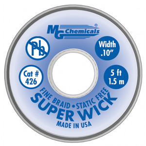 MG Chemicals Super Wick .1 #4 Blue 5ft