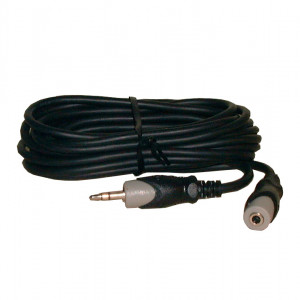 """PHILMORE 1/8"""" Stereo Male to Female 10ft Extension"""