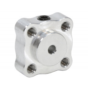 "ACTOBOTICS Tapped Set Screw Hubs, 0.770"" Pattern 1/8"" Bore"