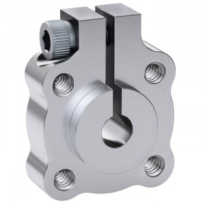 "ACTOBOTICS Tapped Clamping Hubs, 0.770"" Pattern 6mm Bore"