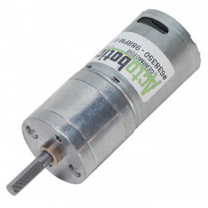 ACTOBOTICS 98 RPM Economy Gear Motor