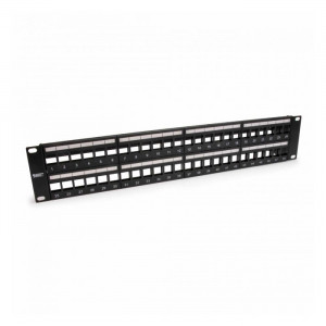 PLATINUM Unloaded Patch Panel, 48 Port, Unshielded