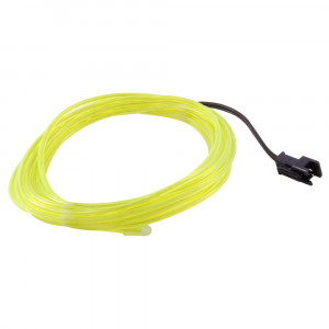NTE EL Wire Yellow Green 2.3mm Diameter