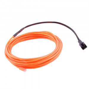 NTE EL Wire Orange 3.2mm Diameter