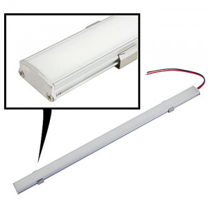 "NTE 72 LED Light Bar Warm White 12vdc 24.1"" 12.60W"