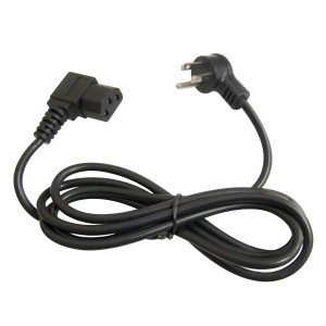PHILMORE 3ft IEC Right Angle AC Power Cord