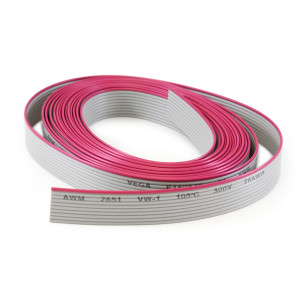 PHILMORE 10 Conductor Flat Ribbon Cable 10ft