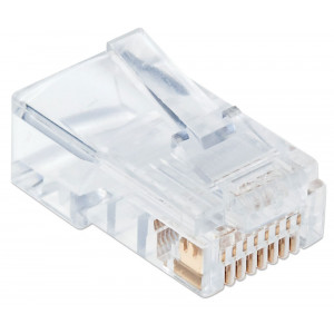 INTELLINET Cat5e RJ45 Modular Plugs 100-Pack