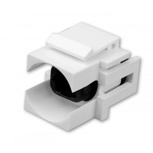 VANCO Toslink Optical Audio Keystone Insert White