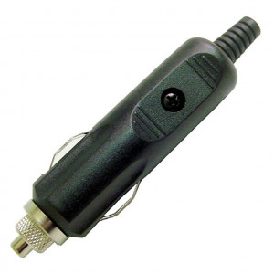 CALRAD Cigarette Lighter Plug with 5 Amp Fuse